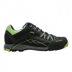 boty Mammut Ceredo Low GTX, black/green