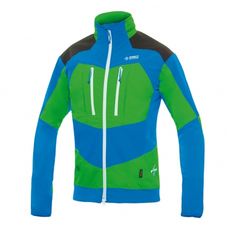 bunda Direct Alpine Mistral, blue/green