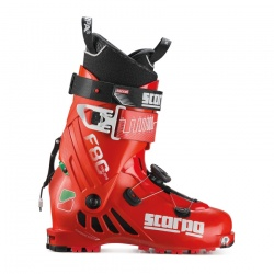 boty Scarpa F1 Anniversary 80th, red, 18/19