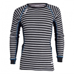 triko Swix RaceX Bodyw LS, black/grey stripes