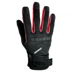 rukavice Silvini Fusaro UA745, black/red