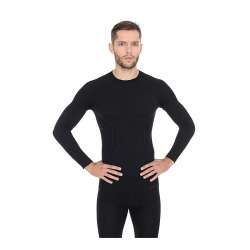 triko Brubeck LS12820 Active Wool, black
