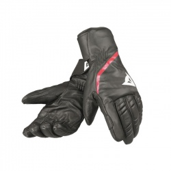 rukavice Dainese Speedcarve 13 Glove, black/white/fire red