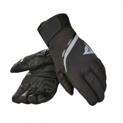 rukavice Dainese Carved Line D-Dry, black/steel-grey