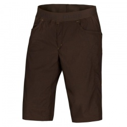 kraťasy Ocún Mania Shorts, brown/yellow