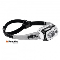 čelovka Petzl Swift RL, black