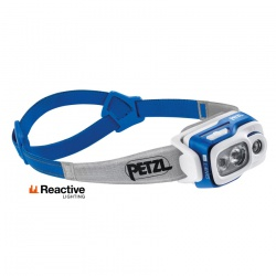 čelovka Petzl Swift RL, blue