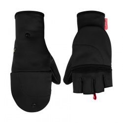 rukavice Salewa Sesvenna Fold Back WS Glove, black out
