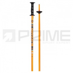 hole Blizzard Race Junior Ski Poles, orange/black
