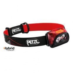 čelovka Petzl Actik Core 2019, red