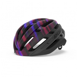 dámská helma Giro Agilis W, matte black/electric purple, 2020