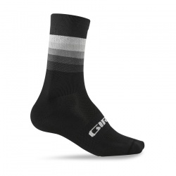 ponožky Giro Comp High Rise, black/heatwave