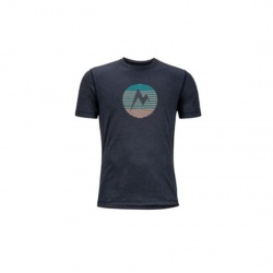 triko Marmot Transporter SS Tee, black heather