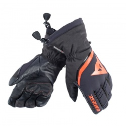rukavice Dainese Flow Line 13 Gore-Tex Glove, black/light-red