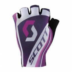 dámské rukavice Scott RC SF, white/dark purple, wht/pink