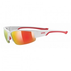brýle Uvex Sportstyle 215, white mat red/mirror red