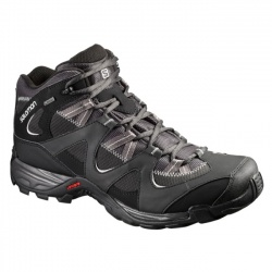 boty Salomon Sector Mid GTX, asphalt black/steel grey