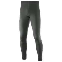 kalhoty Salomon Agile Long Tight, asphalt/black